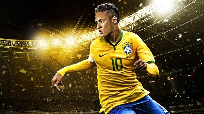 Vinyl Fotobehang Neymar - Neymar
