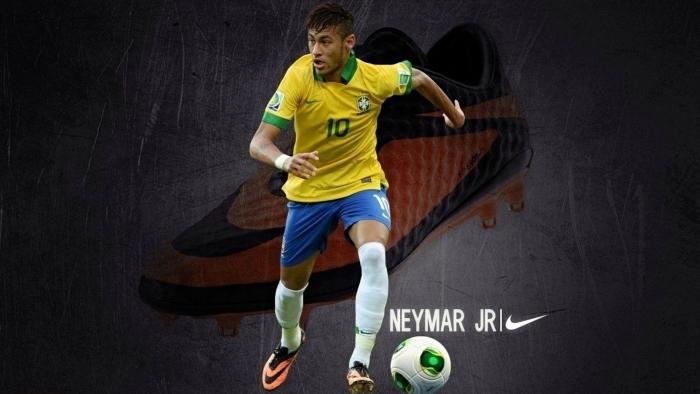 Neymar Pixerstick Sticker - Neymar