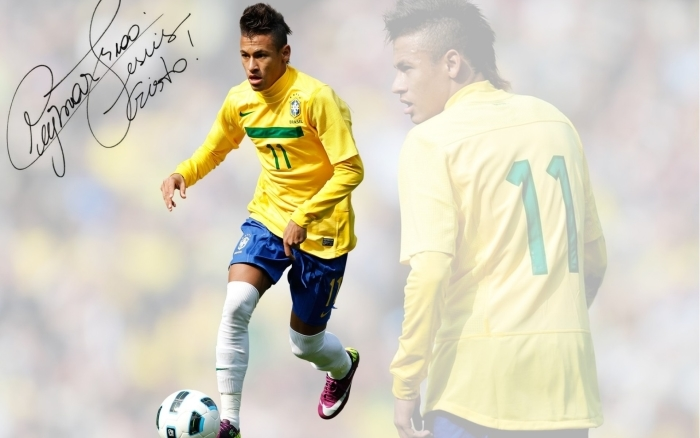 Sticker Pixerstick Neymar - Neymar