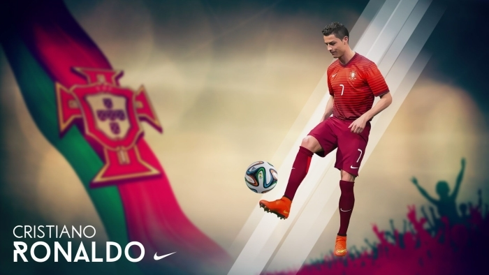 Papier peint vinyle Cristiano Ronaldo - Cristiano Ronaldo