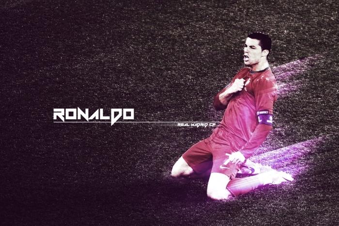 Fototapet av Vinyl Cristiano Ronaldo - Cristiano Ronaldo