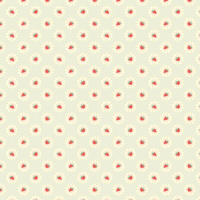 Retro truskawkowy wzór. styl shabby chic