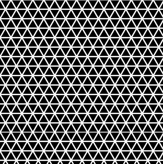 Afwasbaar behang, op maat gemaakt Naadloze driehoek patroon - Grafische Bronnen