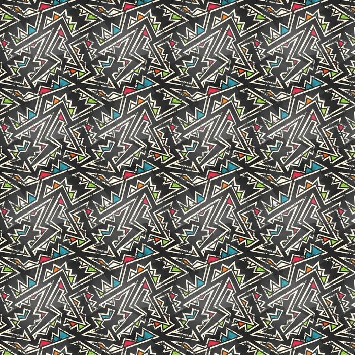 graffiti seamless pattern Washable custom-made wallpaper - Graphic Resources
