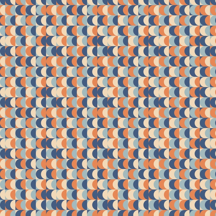 Sømløs vintage geometrisk mønster