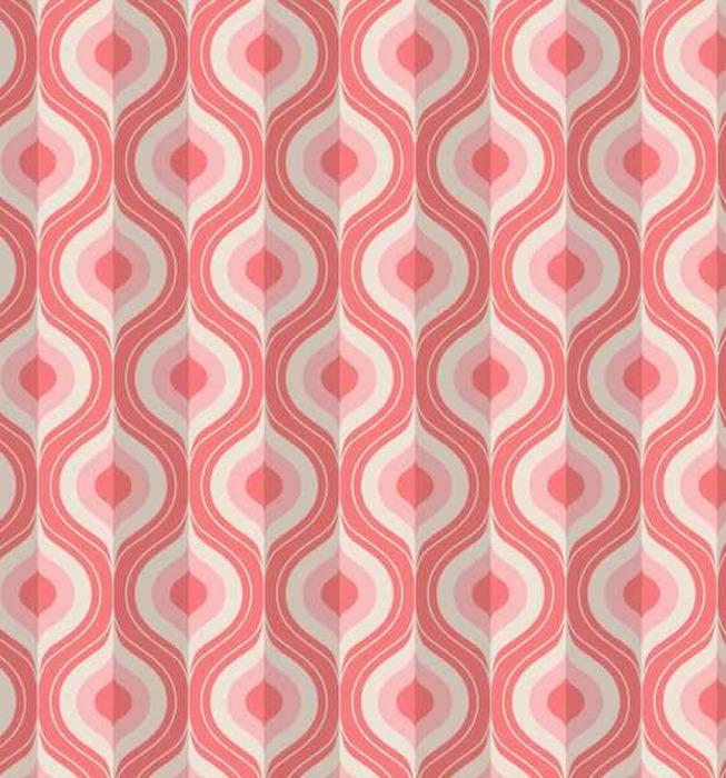 Afwasbaar behang, op maat gemaakt Naadloze vintage geometrisch patroon - Grafische Bronnen
