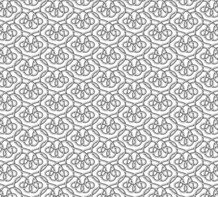 Vector seamless pattern of braided cable Washable custom-made wallpaper - Graphic Resources