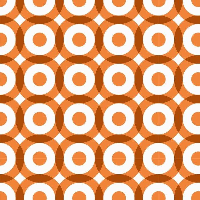 Afwasbaar behang, op maat gemaakt Herhalende geometrische naadloze patroon. vectorillustratie - Grafische Bronnen