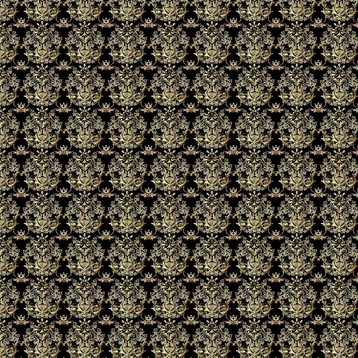 Barroco de patrones sin fisuras. papel pintado de Damasco Fondo floral adornado con flores decorativas antiguas 3d, hojas y ornamentos barrocos. patrón de tejido de tela de vector.