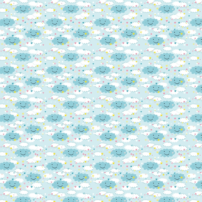 Children's pattern Washable custom-made wallpaper - Graphic Resources