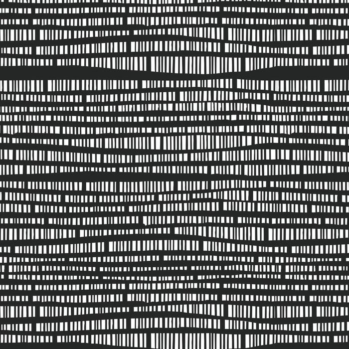 Papier peint lavable sur mesure Modèle abstrait vectorielle continue avec des lignes verticales dessinés à la main. texture de rayures illustration monochrome. arrière-plan du modèle graphique hipster - Ressources graphiques