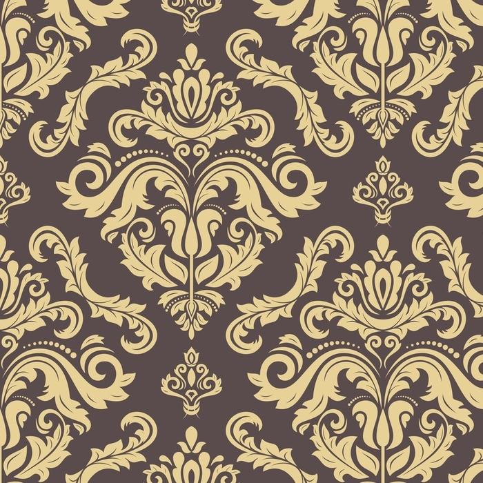 Afwasbaar behang, op maat gemaakt Klassiek naadloos vector gouden patroon. traditionele orient ornament. klassieke vintage achtergrond - Grafische Bronnen