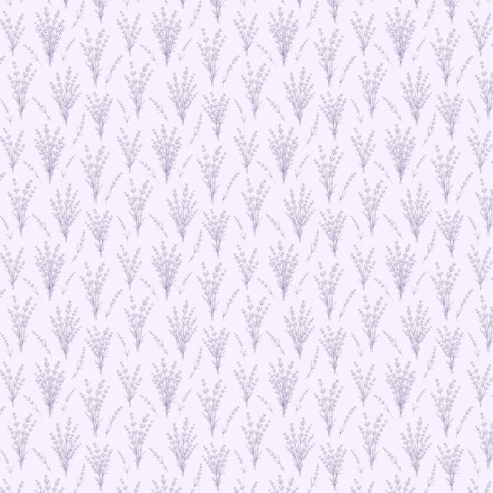 Sin patrón de flores de lavanda sobre un fondo gris. patrón de acuarela con lavanda para muestra de tela. ilustración vectorial