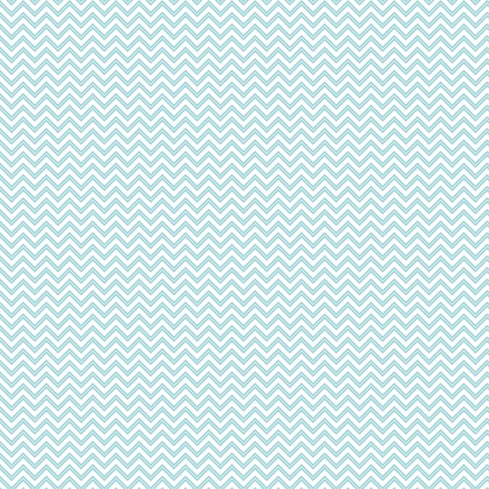 Retro Seamless Pattern Chevron Small Stripe Turquoise Washable custom-made wallpaper - Graphic Resources