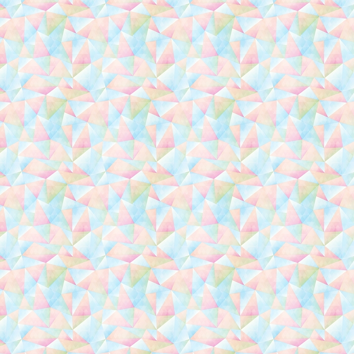Pastell farge triangel sømløs mønster