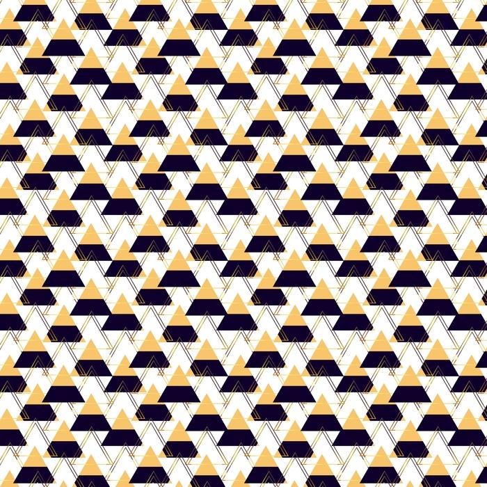 Geometryczne tło z trójkątów. wektor abstrakcyjny ornament. figury geometryczne.