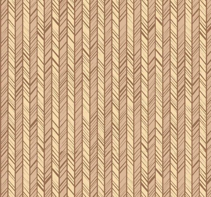 Afwasbaar behang, op maat gemaakt Patroonvisgraat, naadloze achtergrond, beige, vector. verticale strepen met beige en gele diagonale lijnen. de ongelijke slagen van de imitatie. decoratief, gekleurd patroon. - Grafische Bronnen