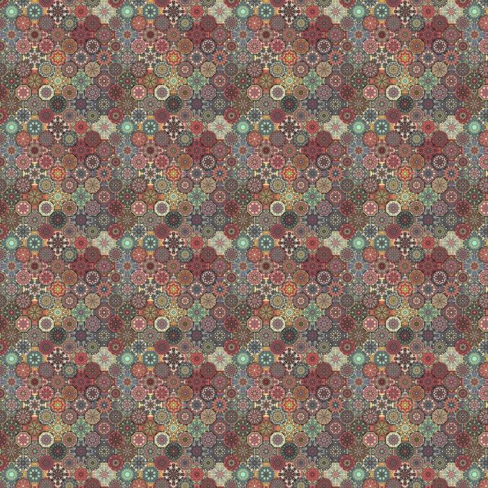 Sømløs mønster. vintage dekorative elementer. håndlaget bakgrunn. islam, arabisk, indisk, osmannisk motiv. Perfekt for utskrift på stoff eller papir.
