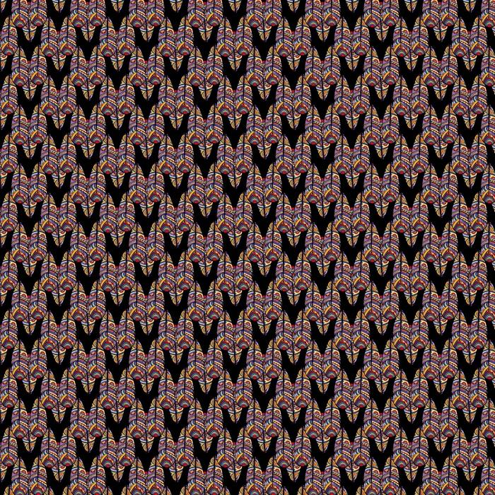 Patrón sin costuras étnico boho. impresión de arte tribal. textura de fondo de frontera colorida. tela, diseño de tela, papel pintado, envoltura.