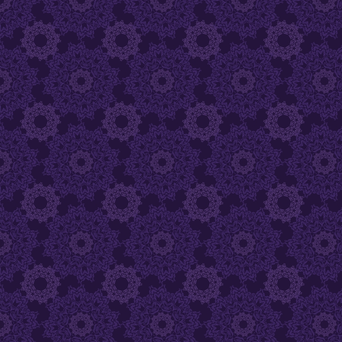 Lace circle oriental ornament, ornamental doily pattern on violet background. Washable custom-made wallpaper - Graphic Resources