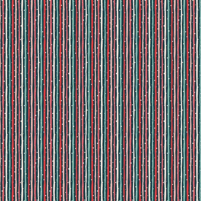 Striper og prikker på den mørke bakgrunnen. sømløs vektor mønster.