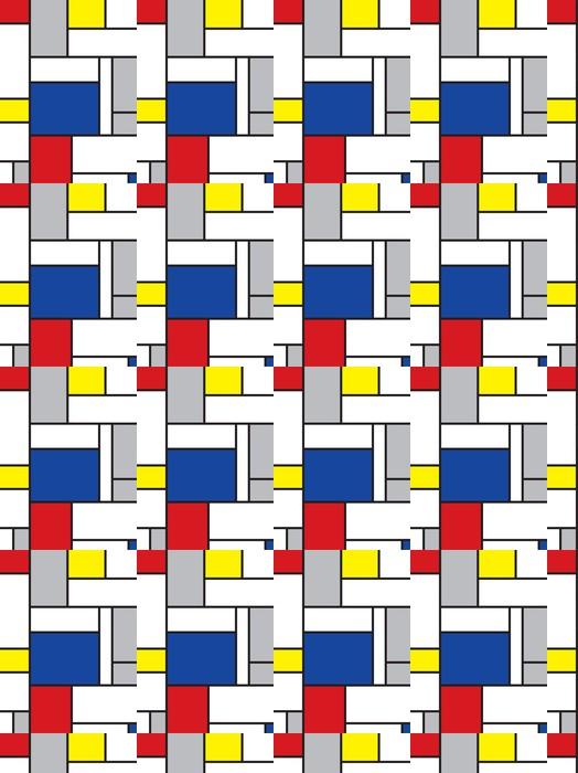 Mondrian arte de inspiración