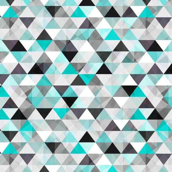Papier peint lavable sur mesure Turquoise vecteur de fond brillant - Styles