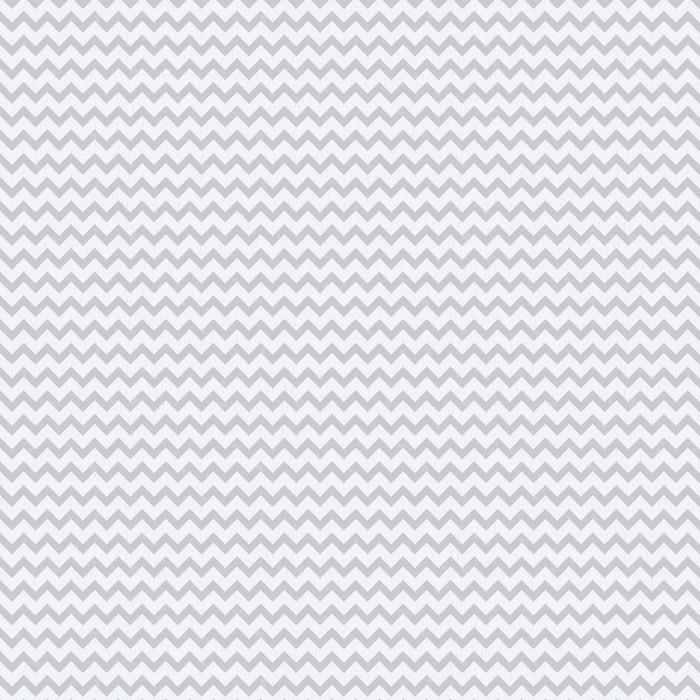 seamless chevron grey pattern Washable custom-made wallpaper - Styles