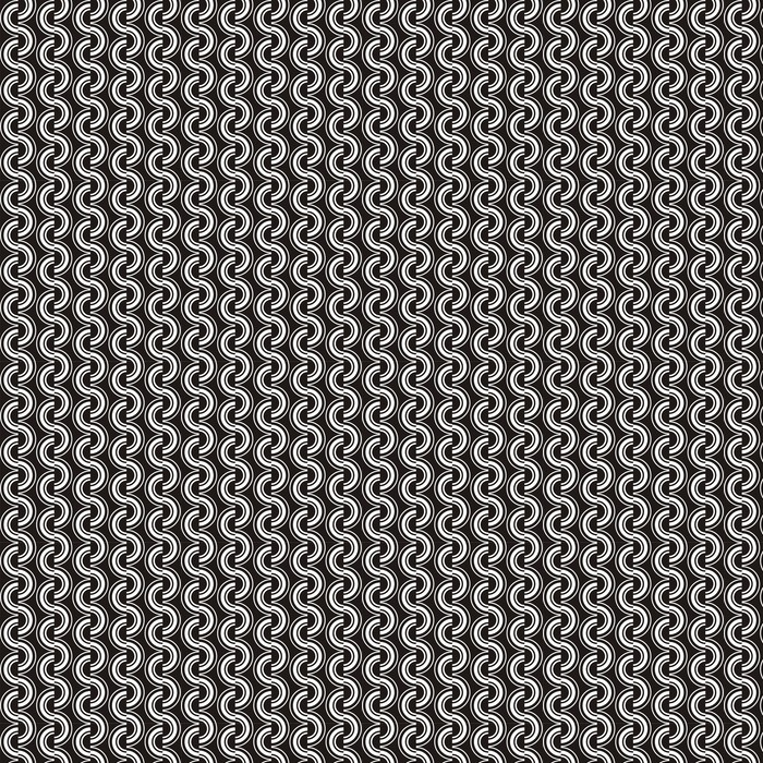 Vector illustration of seamless abstract pattern Washable custom-made wallpaper - Backgrounds