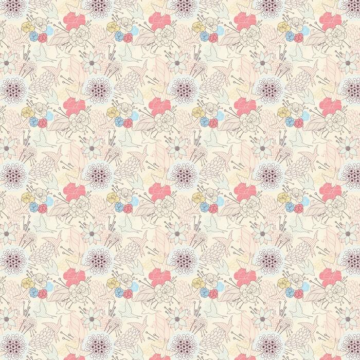 Powtarzalne kwiatowy wzór