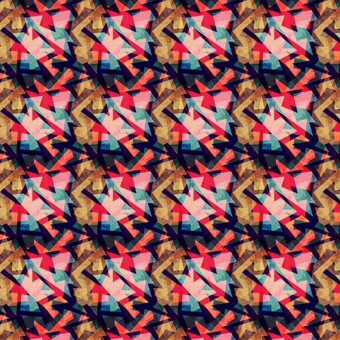 Grunge geometriska sömlösa mönster