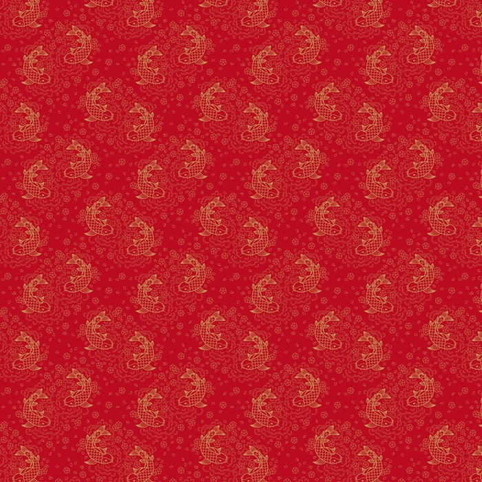 Chinese vector seamless pattern Washable custom-made wallpaper - Graphic Resources