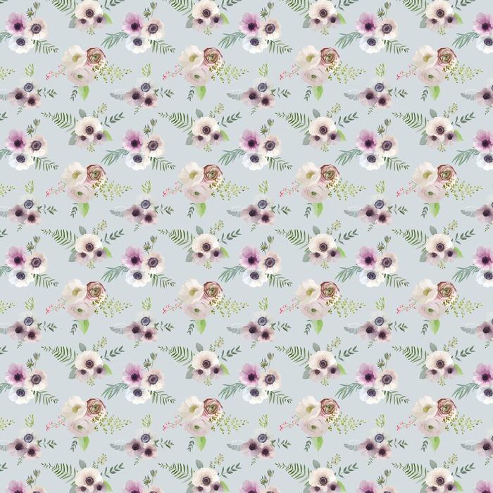 Fondo floral de la vendimia - sin patrón - en el vector