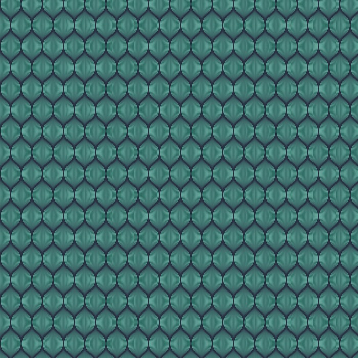 Jednolite niebieski neon złudzenie optyczne tkany wzór wektor