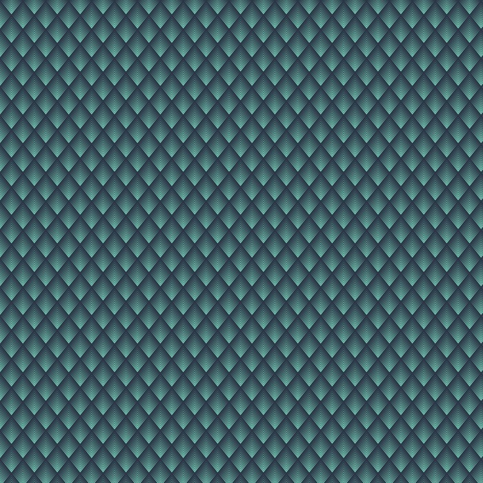 Jednolite niebieski neon op-art rombowy Chevron mieszanka wektor wzór