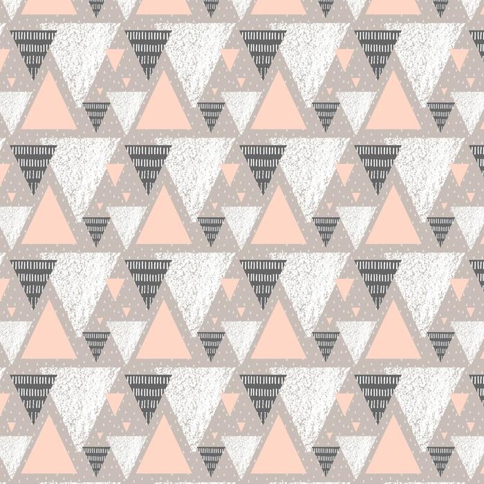 Abwaschbare Tapete nach Maß Abstrakte geometrische Muster - Grafische Elemente