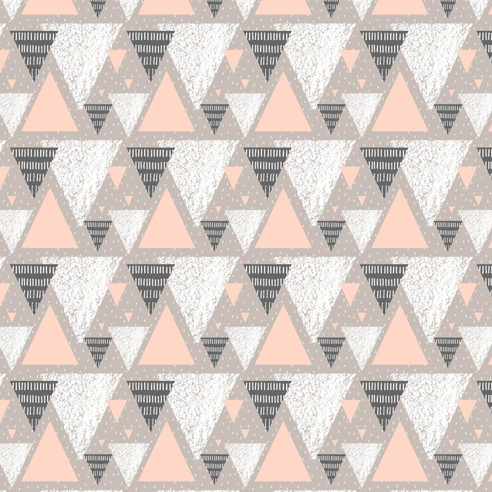 Abstract Geometric Pattern Washable custom-made wallpaper - Graphic Resources
