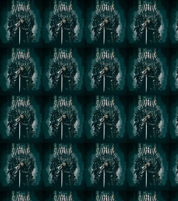Ned Stark Wallpaper Vinyl Custom Made