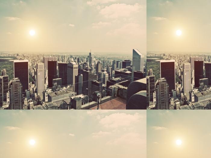 Vinylová Tapeta Vintage Manhattan - New York