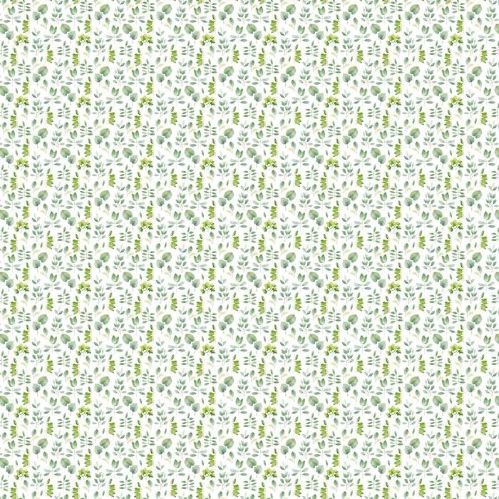 Herbs Vinyl custom-made wallpaper - Spring