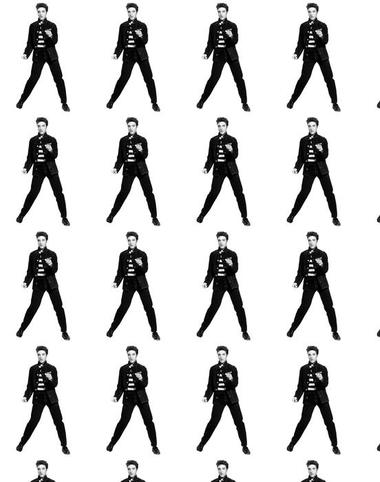 Elvis Presley Wallpaper Vinyl Custom Made