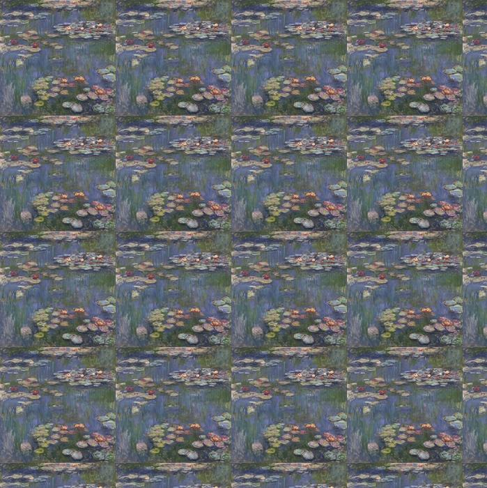 Claude Monet Water Lilies Wallpaper Vinyl Custom Made