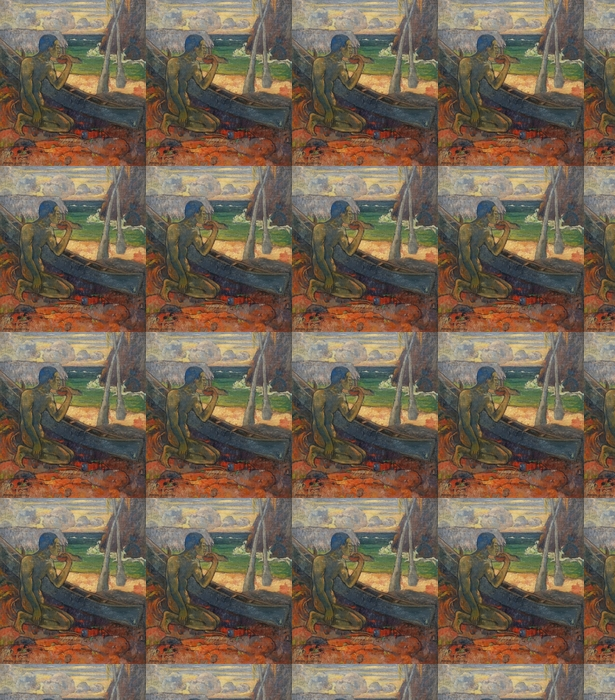 Tapeta na wymiar winylowa Paul Gauguin - Ubogi rybak - Reprodukcje