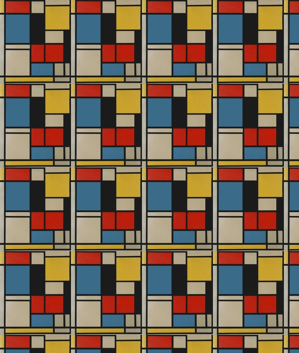Piet Mondrian - Composition C Vinyl Custom-made Wallpaper - Reproductions