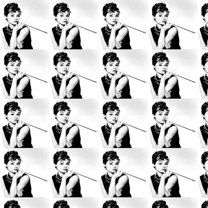 Audrey Hepburn Wallpaper Vinyl Custom Made