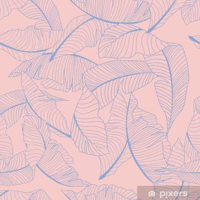 palm pattern Vinyl Wall Mural - Graphic Resources
