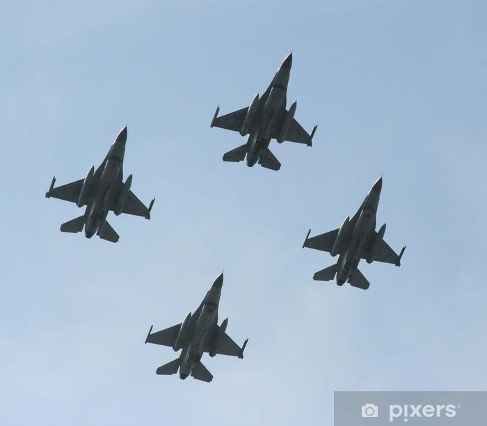 jet fighters Pixerstick Sticker - Air