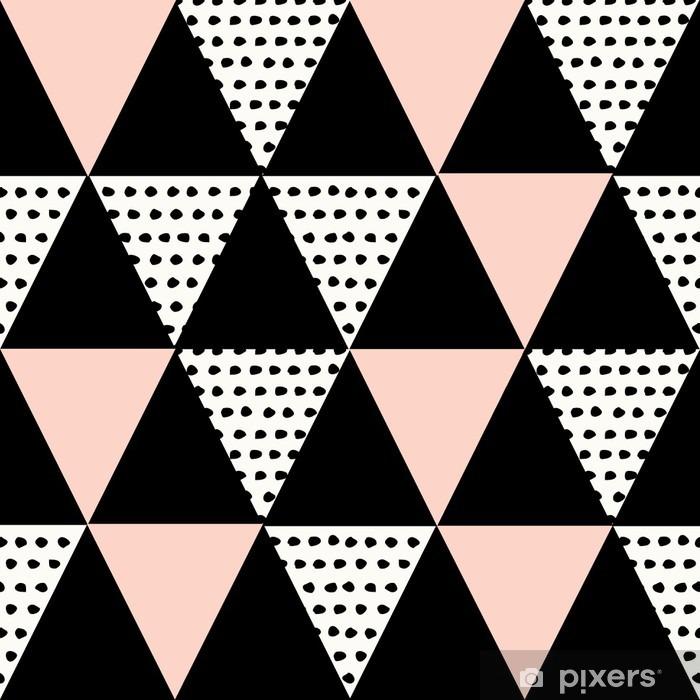 Papier peint vinyle Résumé motif géométrique - Ressources graphiques
