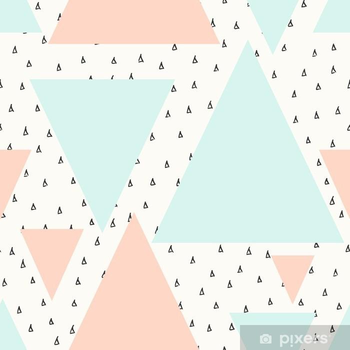 Papier peint vinyle Résumé motif géométrique -