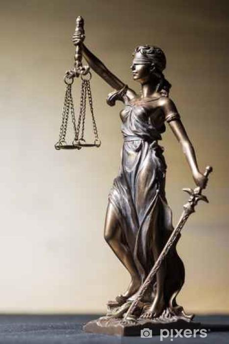 Nálepka Pixerstick Justice God Themis - Sociální témata
